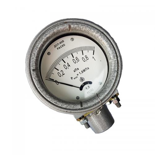 Дифманометр ДСП 80В РАСКО стрелочный показывающий