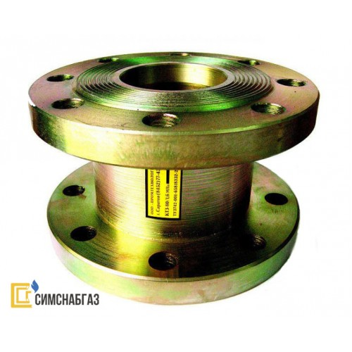 Клапан термозапорный КТЗ-001-200-02