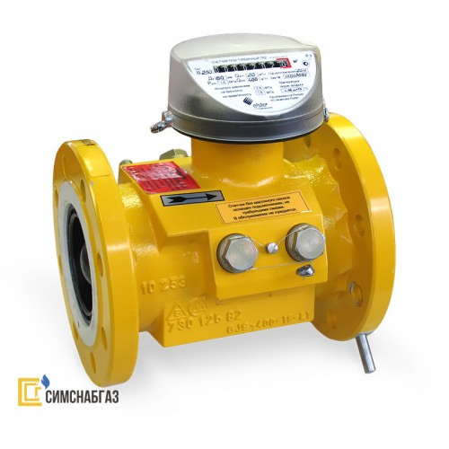 Счетчик газа турбинный TRZ G1000/1,6