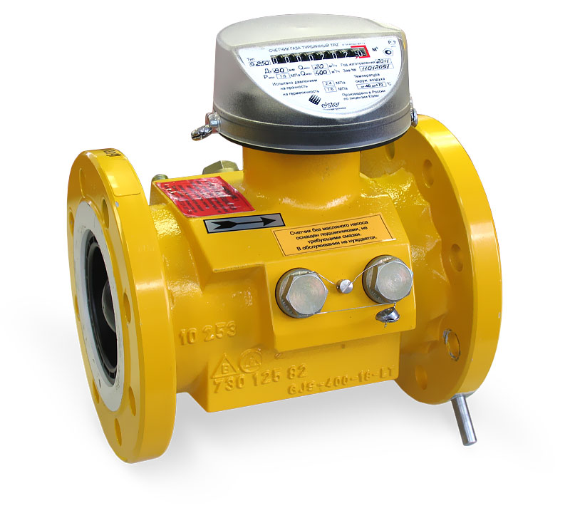Счетчик газа DELTA Ду 65  50 (1:200)